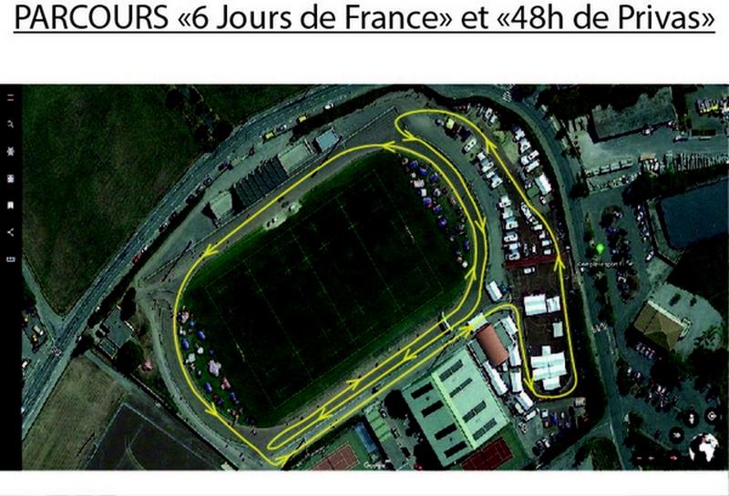 18 au 24-08-2019 - 6 jours de France et 48 heures à Privas Parcours-2019-boucle
